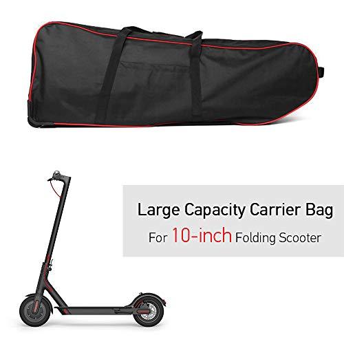 Lixada Rucksack Tragbare Scooter-Tasche, Faltbare Scooter-Tragetasche mit großer Kapazität für die 10-Zoll-Rollertasche mit Rollen - 2