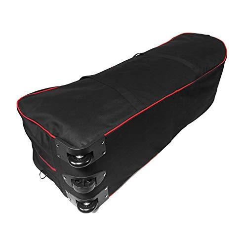 Lixada Rucksack Tragbare Scooter-Tasche, Faltbare Scooter-Tragetasche mit großer Kapazität für die 10-Zoll-Rollertasche mit Rollen - 9