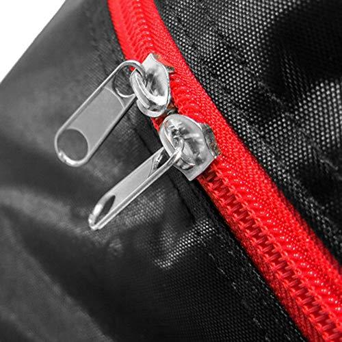 Lixada Rucksack Tragbare Scooter-Tasche, Faltbare Scooter-Tragetasche mit großer Kapazität für die 10-Zoll-Rollertasche mit Rollen - 4