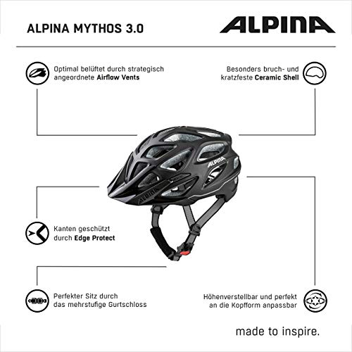 ALPINA Mythos 3.0 Helm, Schwarz-Matt - 7