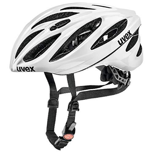 Uvex Boss Race Fahrradhelm, White