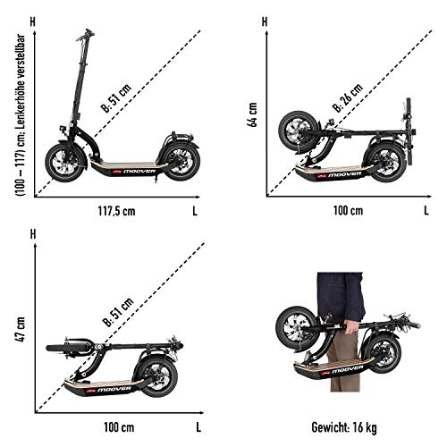 Metz moover E-Scooter - 8