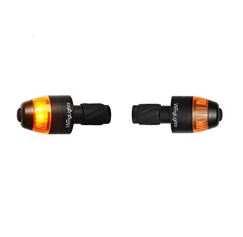 WingLights Fixed - Blinker für das Fahrrad V3 (Schwarz)