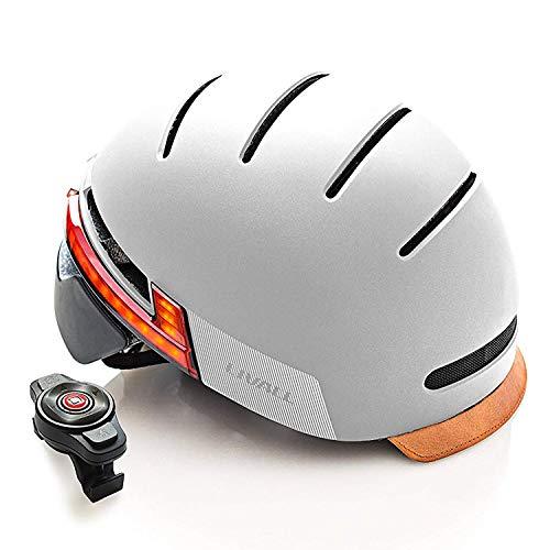 LIVALL BH51T - Smarter Fahrradhelm, Rücklicht, Blinker
