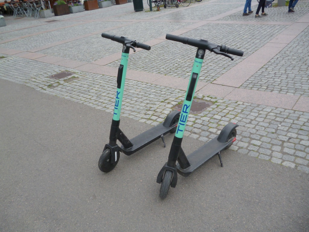 Tier Scooter in Oslo