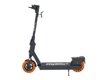CITY BLITZ CB079SZ E-SCOOTER FLASH E-Scooter in Schwarz/Orange