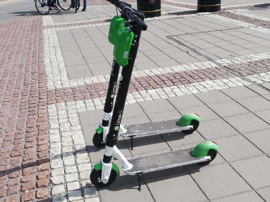Lime Scooter in Oslo