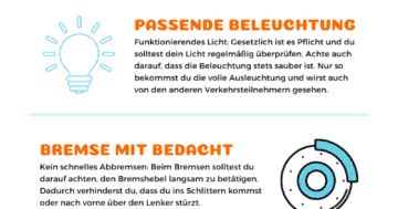 E-Scooter Infografik Winter - 5 Tipps