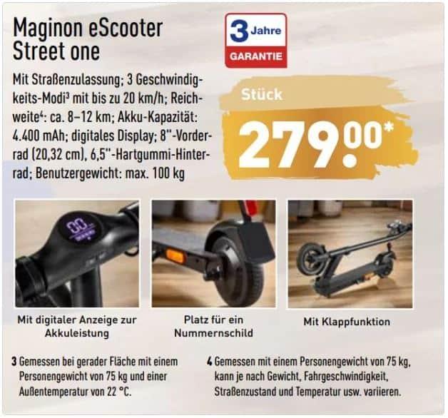 Maginon Street One Quelle: mydealz.de