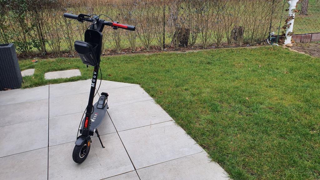 E-Scooter Lenkertasche Wild Man Größe geöffnet