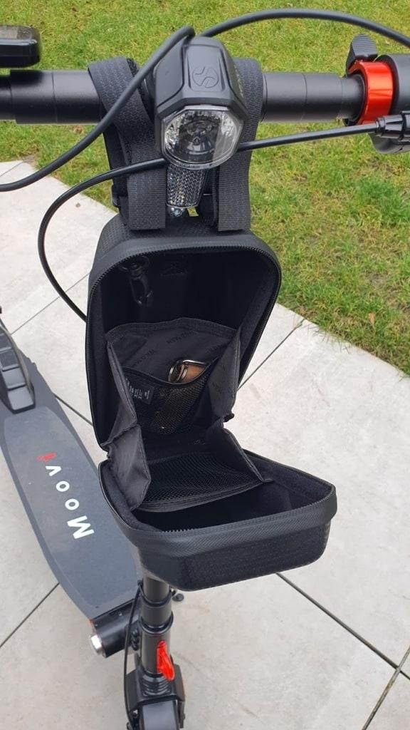 E-Scooter Lenkertasche Größe offen