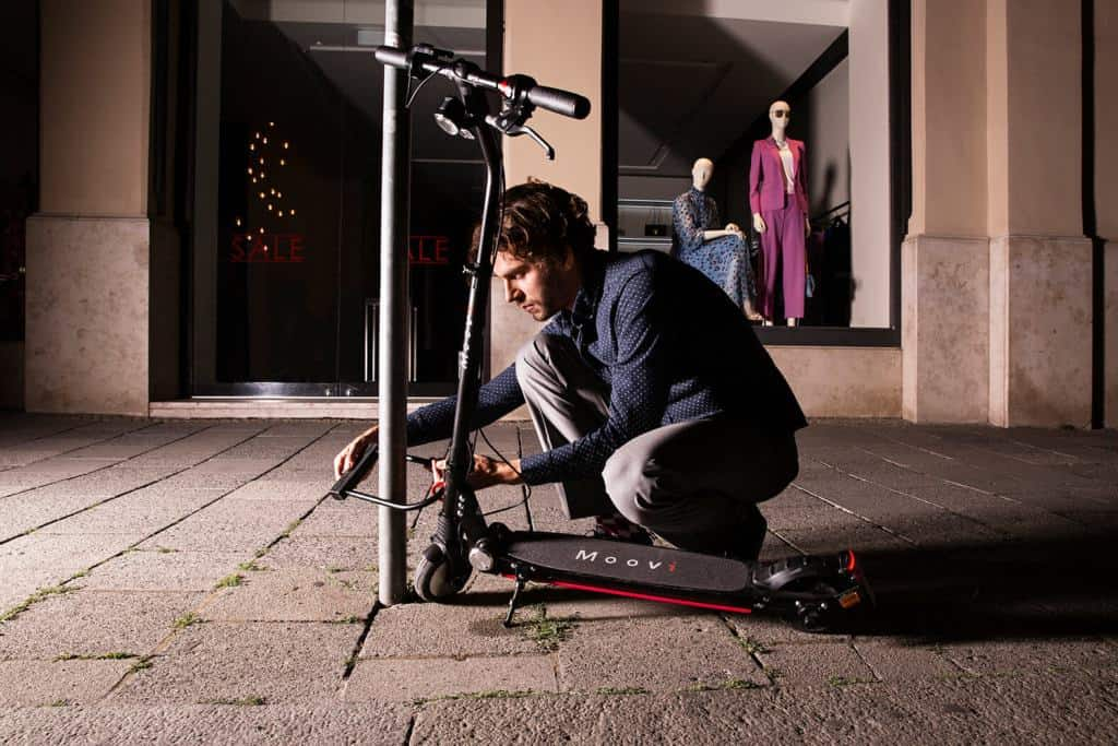 E-Scooter anschließen