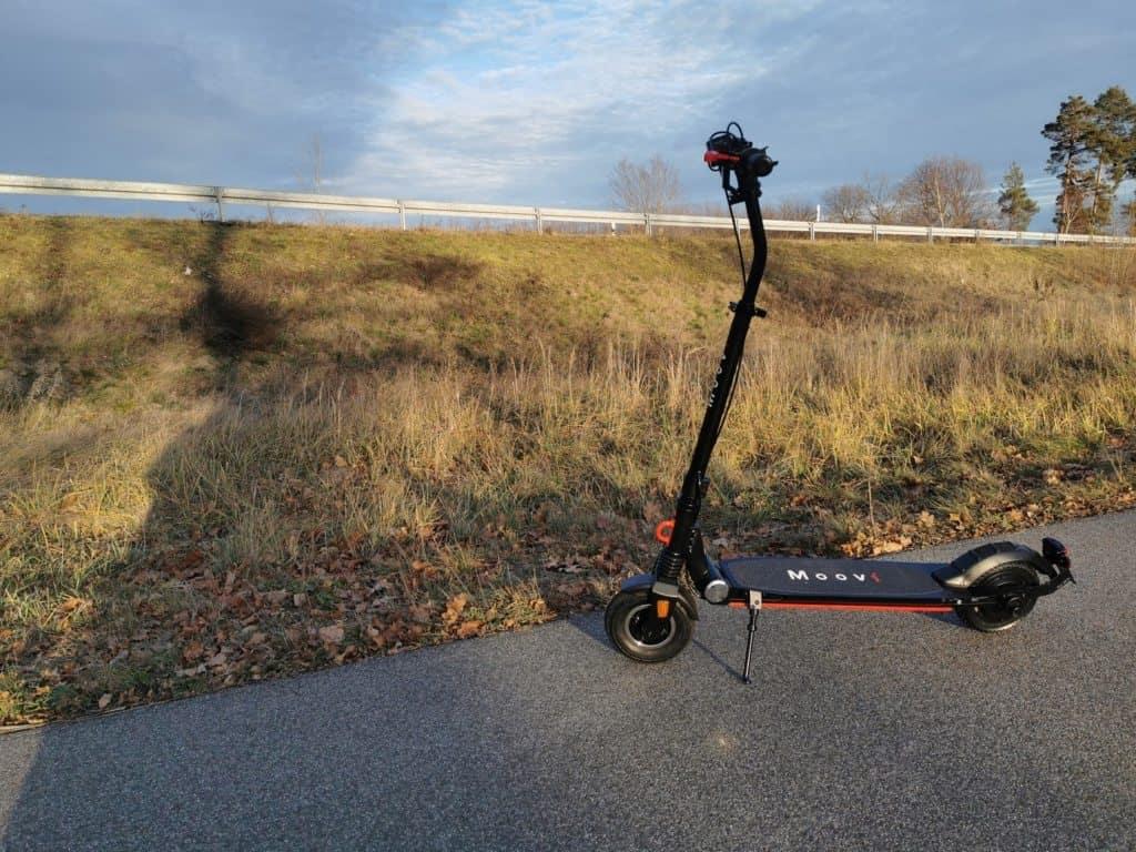 Moovi StVO Pro erste Fahrt