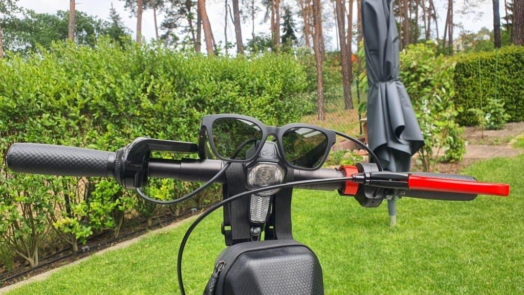 Bose Frames Alto Testbericht E-Scooter - Unten Vorne