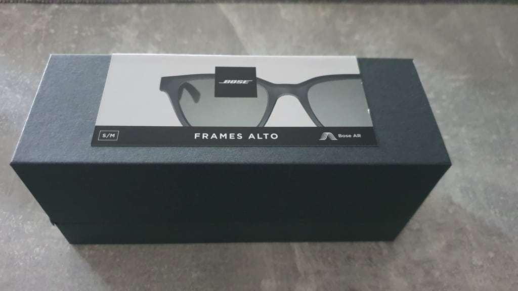 Bose Frames Alto Testbericht E-Scooter - Verpackung