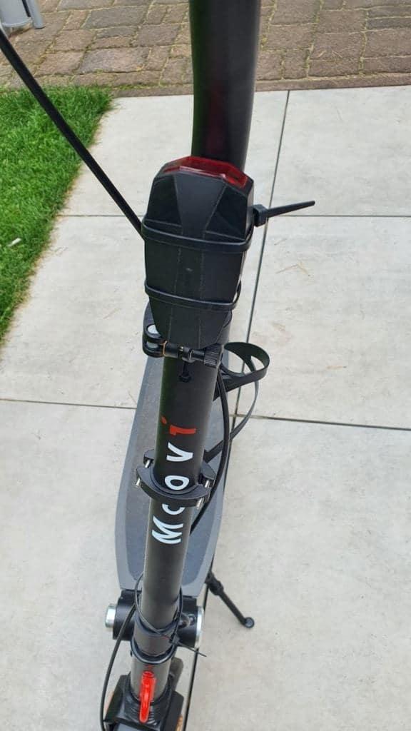 Alarmanlage für E-Scooter - Variante 2 verbaut