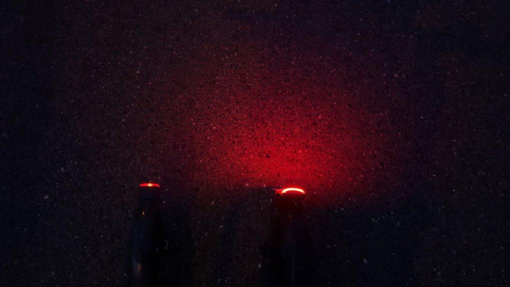Xiaomi Mi Scooter 1S Test - Rücklicht vs Moovi StVo Pro