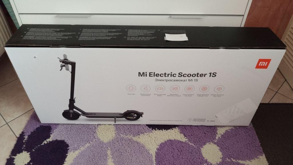 Xiaomi Mi Scooter 1S Test - Verpackung