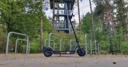 E-Scooter ePF-1 im Test - Über Stock und Stein